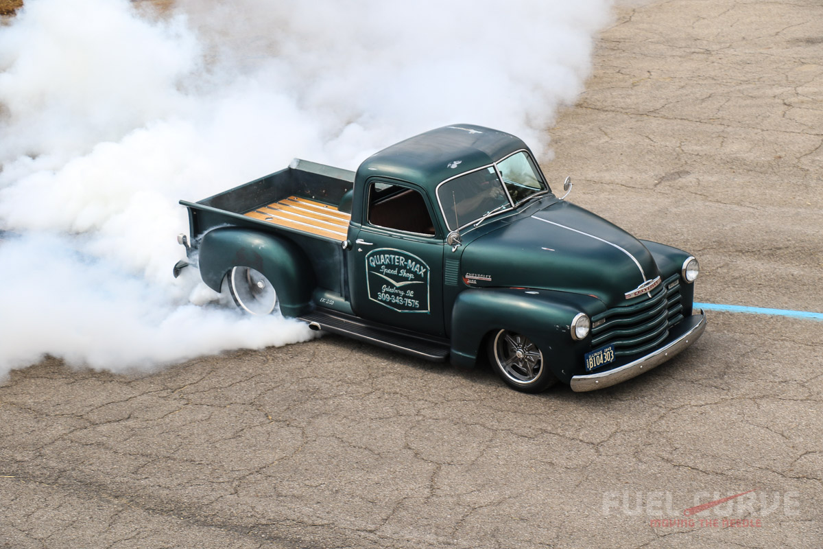 News 1949 Dodge Stepside Truck Great Article By The Folks Over At Fuelcurvecom About This Chevy Built Rick Jones And His Crew Rj Race Cars Quarter Max