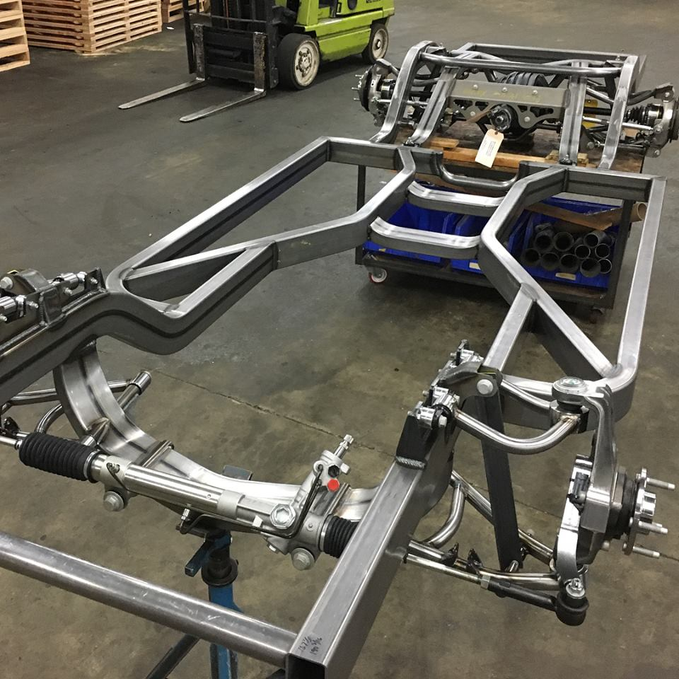 1970 Plymouth Roadrunner Chassis For Big Power Racing