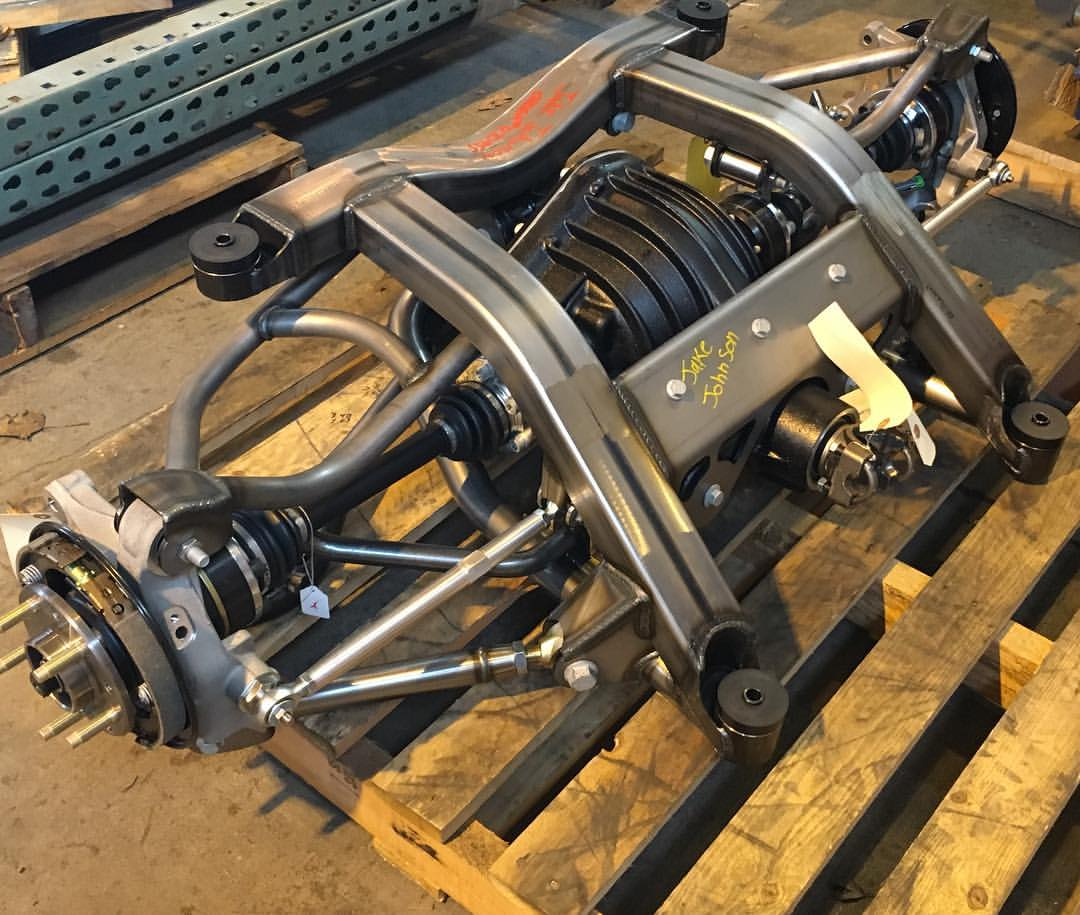 Multi Link Rear Suspension: Multilink IRS Ready To Ship